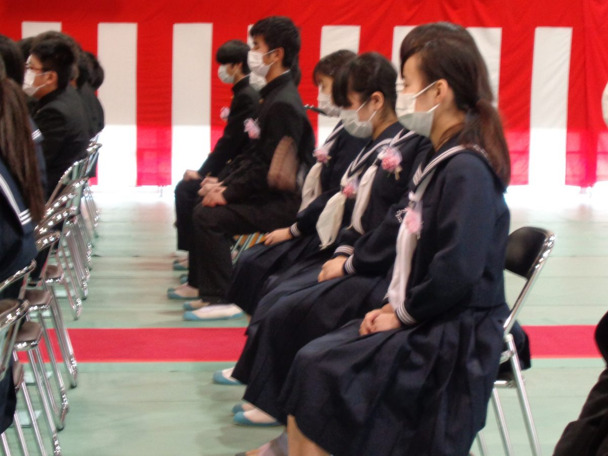 8組・卒業式②
