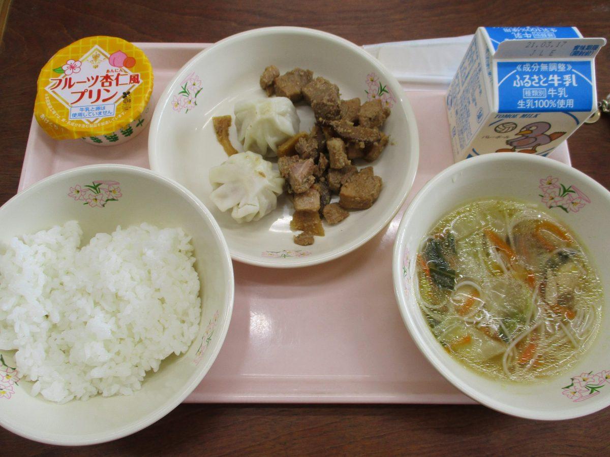 台湾をイメージした給食