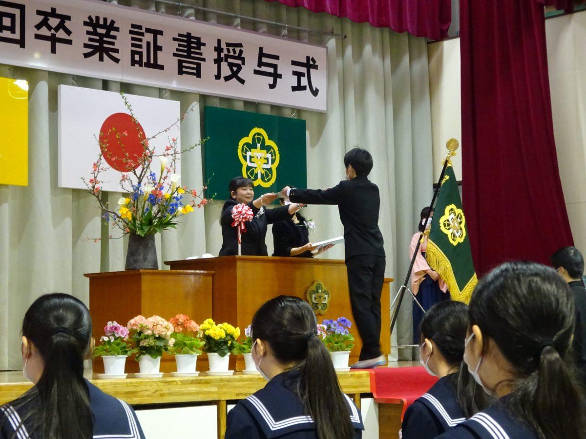 第73回卒業証書授与式