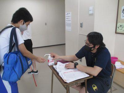 8組・感染症予防対策